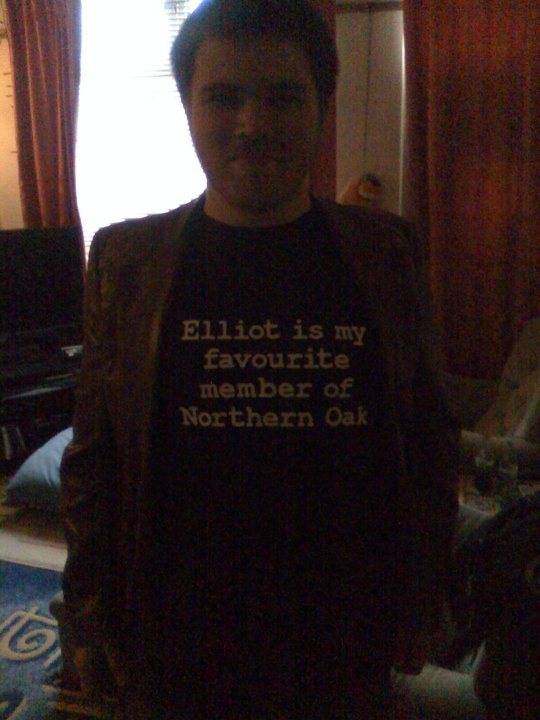 Elliot is everybody's favourite member of Northern Oak. Even though he left 4 years ago.